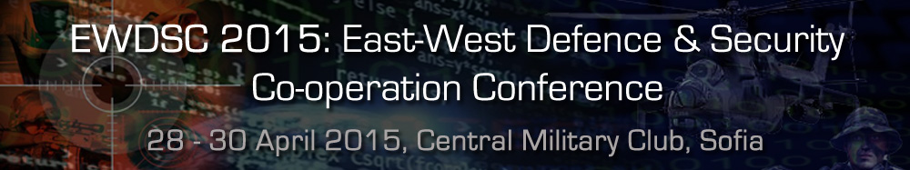 EWDSC 2015, 28-30 April 2015, Central Military Club, Sofia